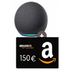 Bild zu [vorbei] 18GB Telekom LTE Datenflat inkl. Sprach- und SMS-Flat mit Amazon Echo Dot 4. Gen (VG: 49,50€) und 150€ Amazon.de Gutschein für 19,99€/Monat