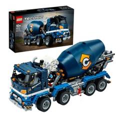 Bild zu LEGO Technic – Betonmischer-LKW (42112) für 62,90€ (Vergleich: 74,90€)