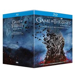 Bild zu Game of Thrones – Die Komplette Serie [Blu-ray] für 64,80€ (VG: 103,11€)