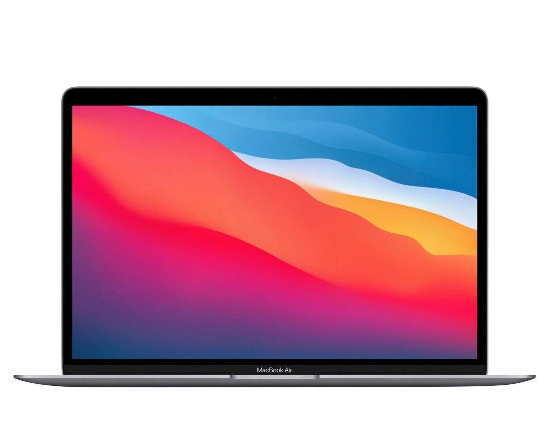 Bild zu Apple MacBook Air mit Apple M1 Chip Notebook (33,78 cm/13,3 Zoll, 512 GB SSD) in Space grey für 1247,26€ (VG: 1348,99€)