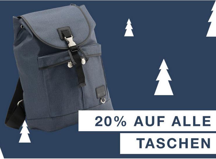 Bild zu Mustang Store: 20% Rabatt auf alle Rucksäcke und Taschen