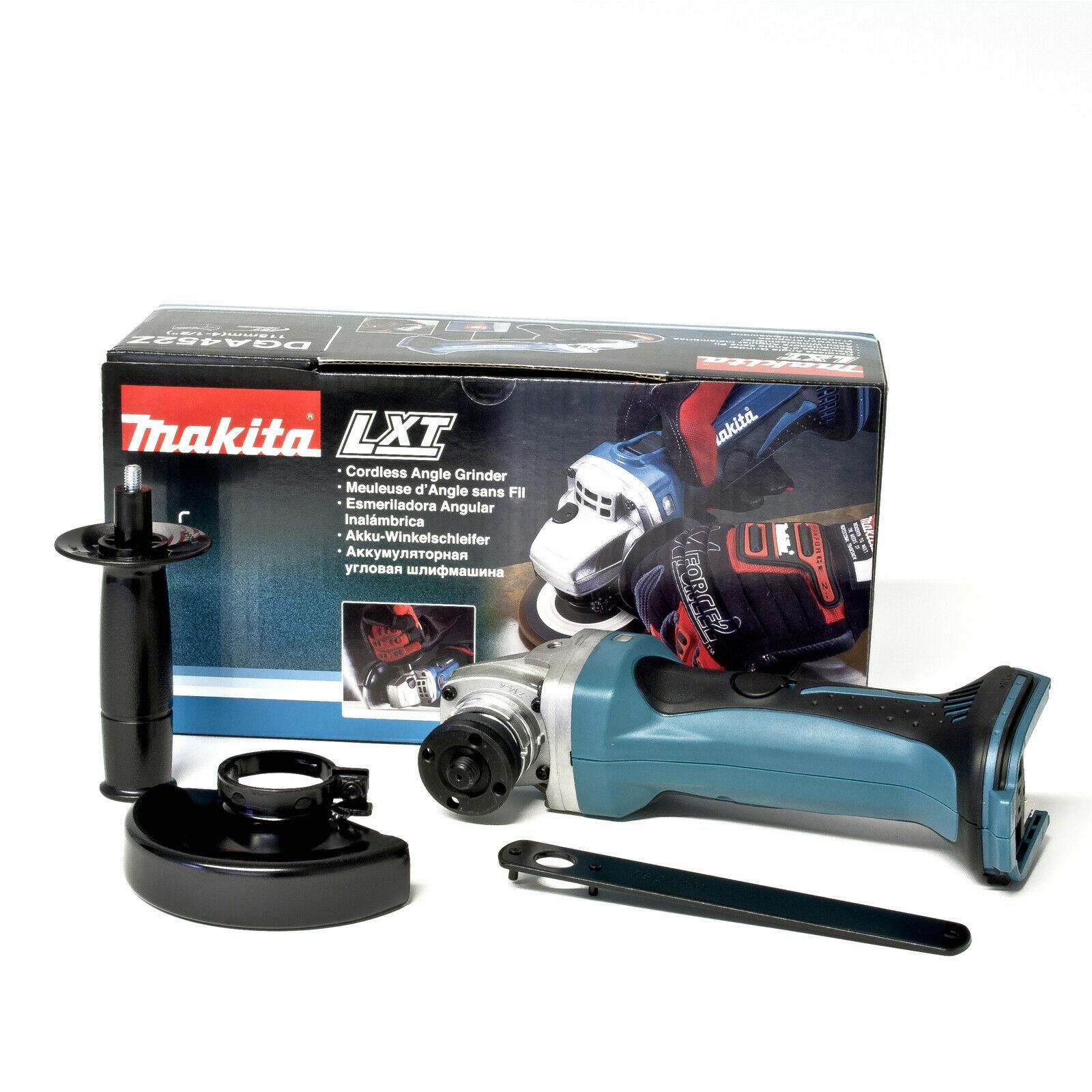 Bild zu Makita DGA452Z Akku Winkelschleifer Sologerät für 74,99€ (Vergleich: 82,86€)