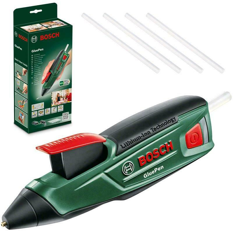 Bild zu Bosch Akku Heißklebepistole GluePen mit vier Klebesticks und USB-Ladegerät für 22,90€ (Vergleich: 28,80€)
