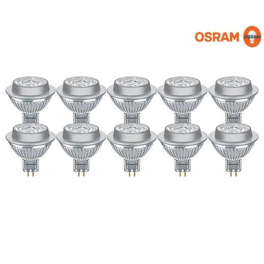 Bild zu 10 Stück dimmbare Osram Parathom GU5.3 LED-Spots für 25,90€ (Vergleich: 42,79€)