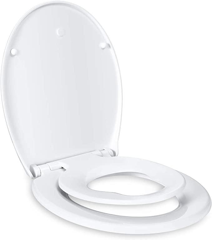 Bild zu Dalmo O-Form WC-Sitz mit integriertem Kindersitz und Absenkautomatik für 26,99€