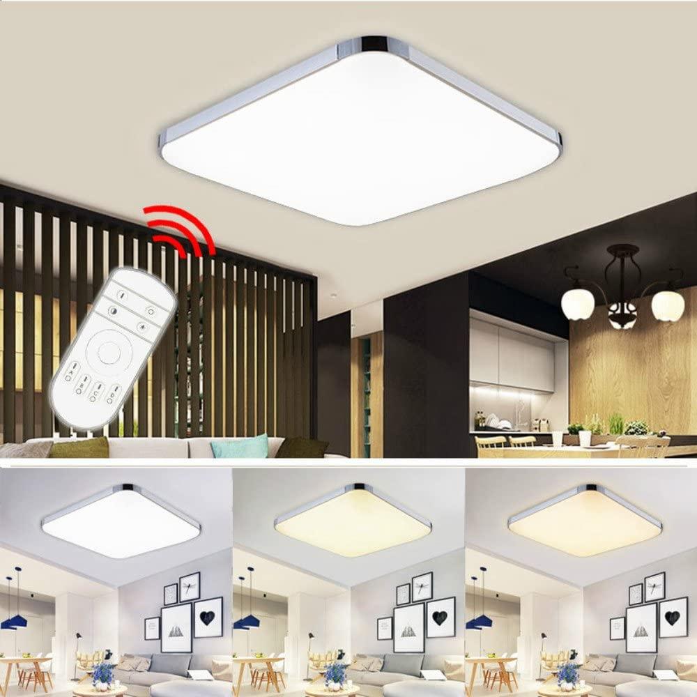 Bild zu Hengda dimmbare 36 Watt LED-Deckenleuchte (2.700 – 6.500K) für 31,49€