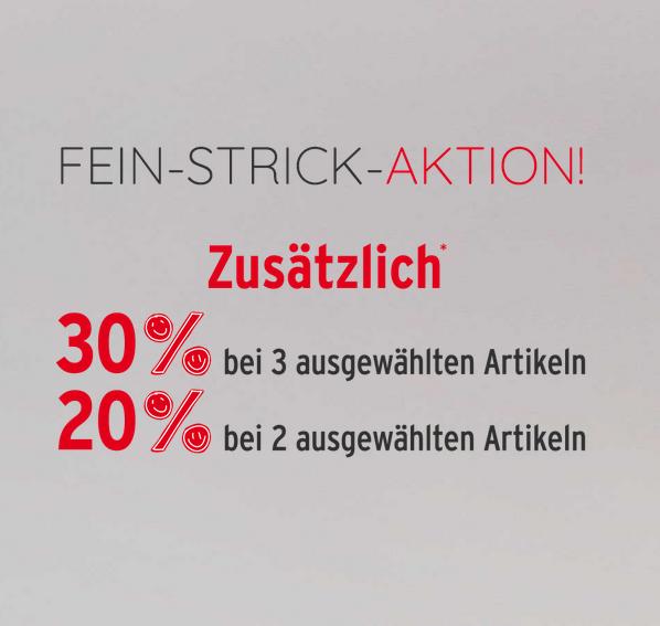 Bild zu Ernstings Family: Bis zu 30% Rabatt auf ausgewählte Strick-Waren