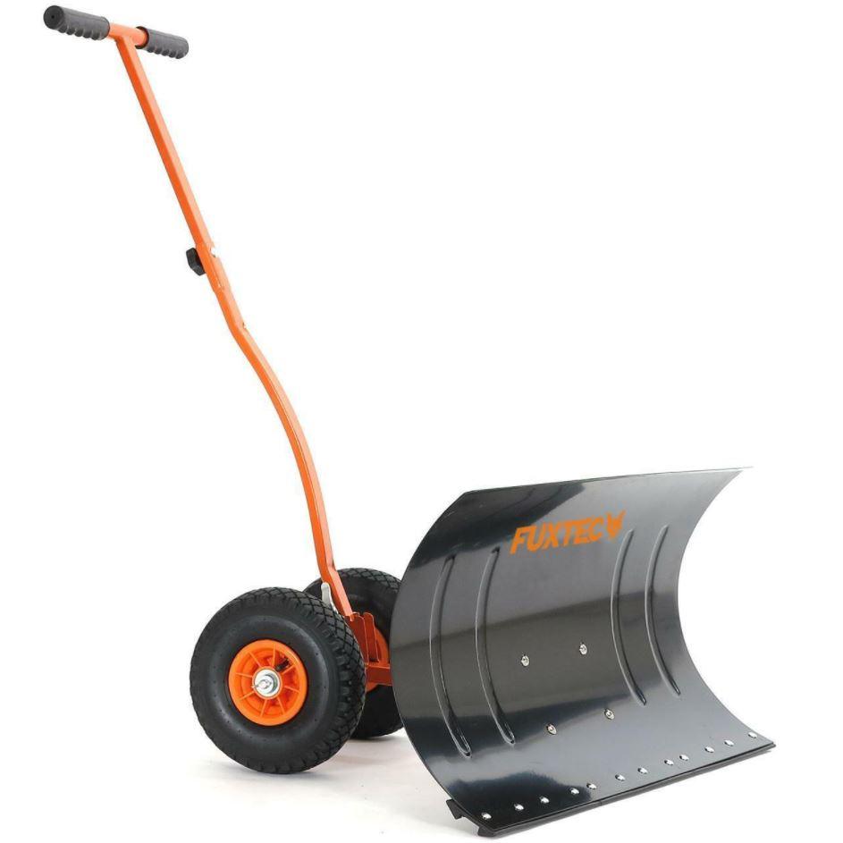 Bild zu FUXTEC Schneeschaufel mit Rädern SS740 für 49€ (VG: 59€)