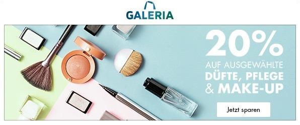 Bild zu Galeria: 20% Rabatt auf ausgewählte Düfte, Pflege & Make-up
