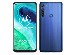Bild zu MediaMarkt Smartphone Deals: z.B. MOTOROLA moto g8 64 GB Blau Dual SIM für 119€