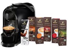 Bild zu TCHIBO CAFISSIMO Pure + 60 Kapseln (Espresso, Filterkaffee, Caffè Crema) Kapselmaschine für 39€ (VG: 74,99€)