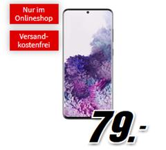 Bild zu [Top] SAMSUNG Galaxy S20+ für 79€ mit 14GB LTE Datenflat und Sprachflat im Telekom Netz für 26,99€/Monat