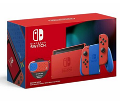 Bild zu Nintendo Switch Mario Red & Blue Edition für 305,50€ (VG: 329€)