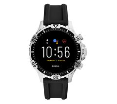 Bild zu Fossil Gen 5 Smartwatch Garrett HR in Silikon Schwarz für 139,30€ (VG: 195,99€)