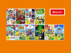 Bild zu [endet heute] Saturn: Nintendo Switch 3 Spiele kaufen – 2 bezahlen
