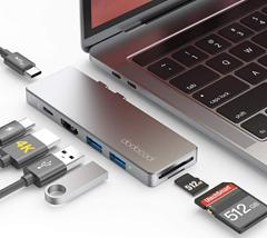 Bild zu [vorbei] dodocool 7 in 2 USB-C Hub für 14,39€