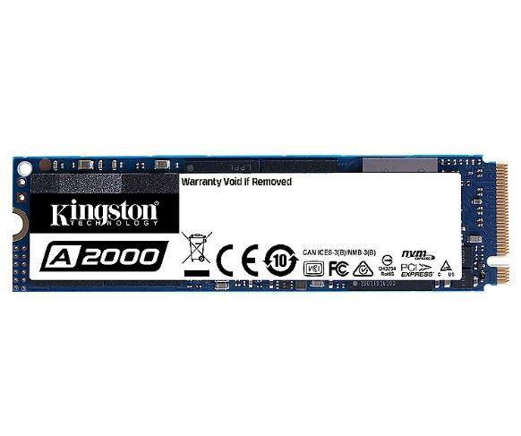Bild zu Kingston A2000 1 TB NVMe PCIe SSD M.2 – 80mm ab 79,90€ (VG: 102,99€)