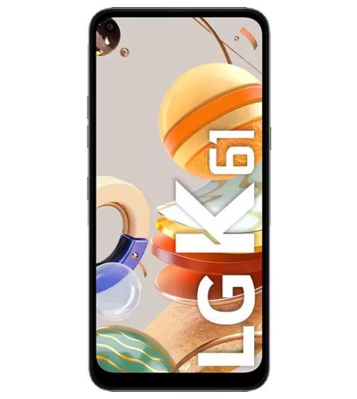 Bild zu LG K61 Smartphone mit 128 GB, Dual SIM in Titan oder weiß für je 149€ (VG: 219€ oder 188,47€)