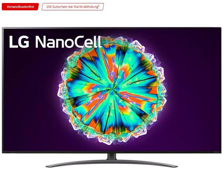 Bild zu LG 55NANO917NA NanoCell LCD TV (Flat, 55 Zoll / 139 cm, UHD 4K, SMART TV, webOS 5.0 (AI ThinQ)) für 799€ (VG: 897,89€)