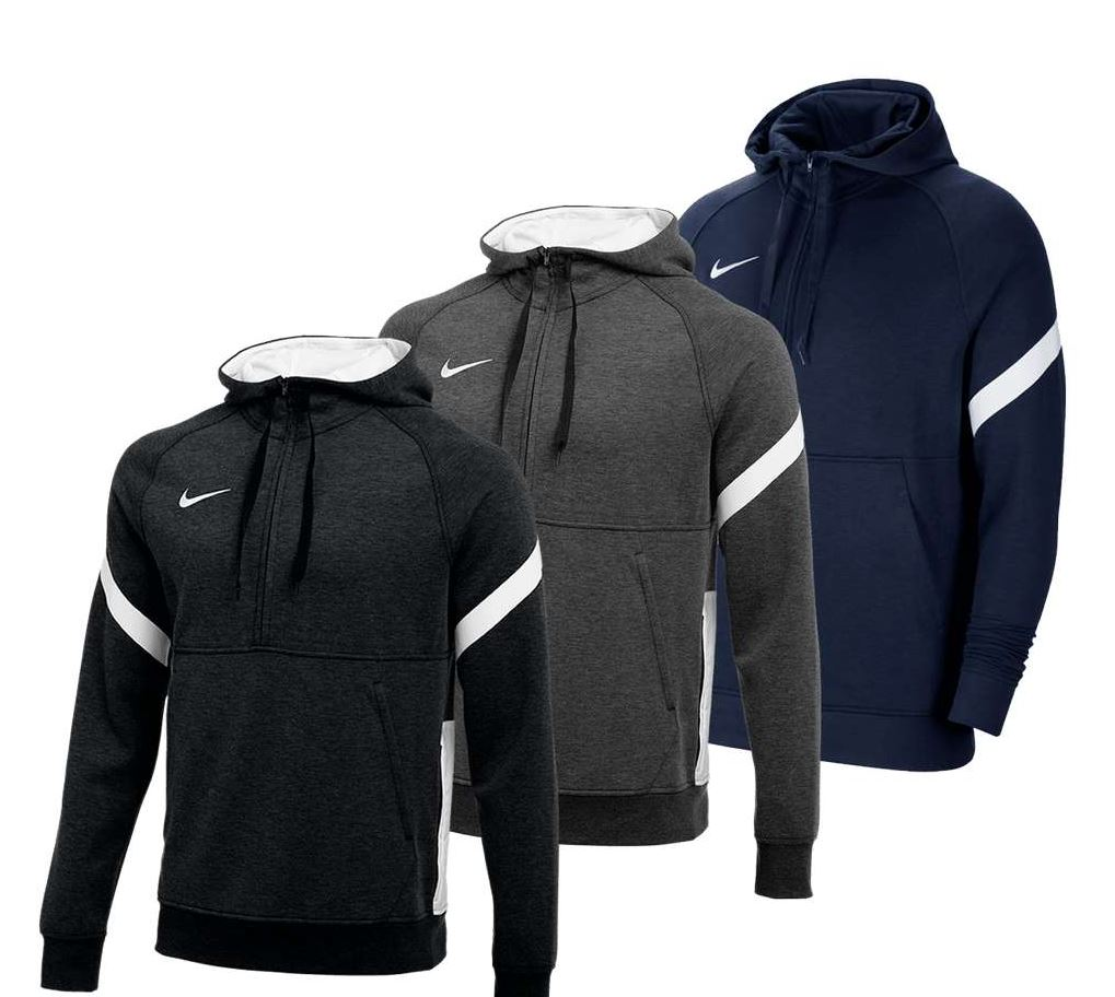 Bild zu Nike Kapuzenpullover Strike Fleece 1/2-Zip in 3 Farben zu je 44,95€ (VG: 52,99€)
