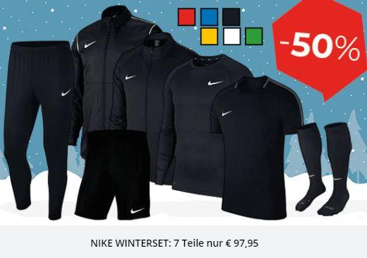 Bild zu Nike Trainingsset Academy 18 (7-teilig) für 97,45€ (VG: 140€)