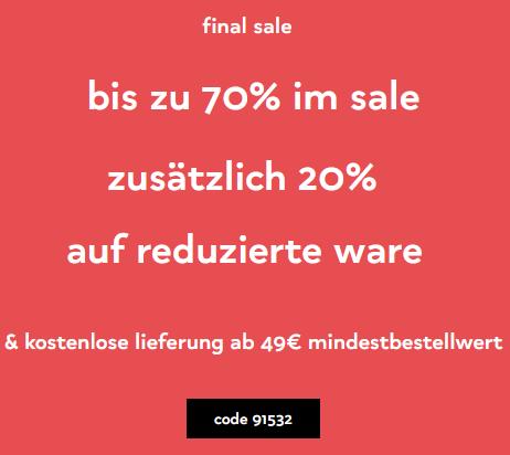 Bild zu Orsay: Bis zu 70% Rabatt im Sale + 20% Extra-Rabatt auf bereits reduzierte Artikel