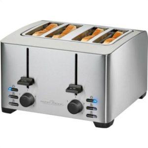 Proficook 4 schlitz toaster