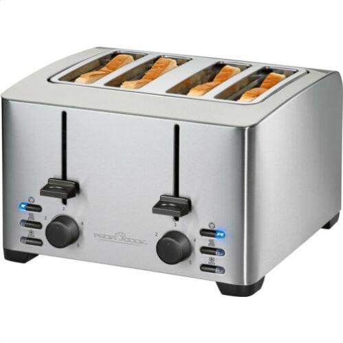 Bild zu ProfiCook Toaster PC-TA 1073, für 4 Scheiben, 1500 Watt für 32,79€ (VG: 41,41€)