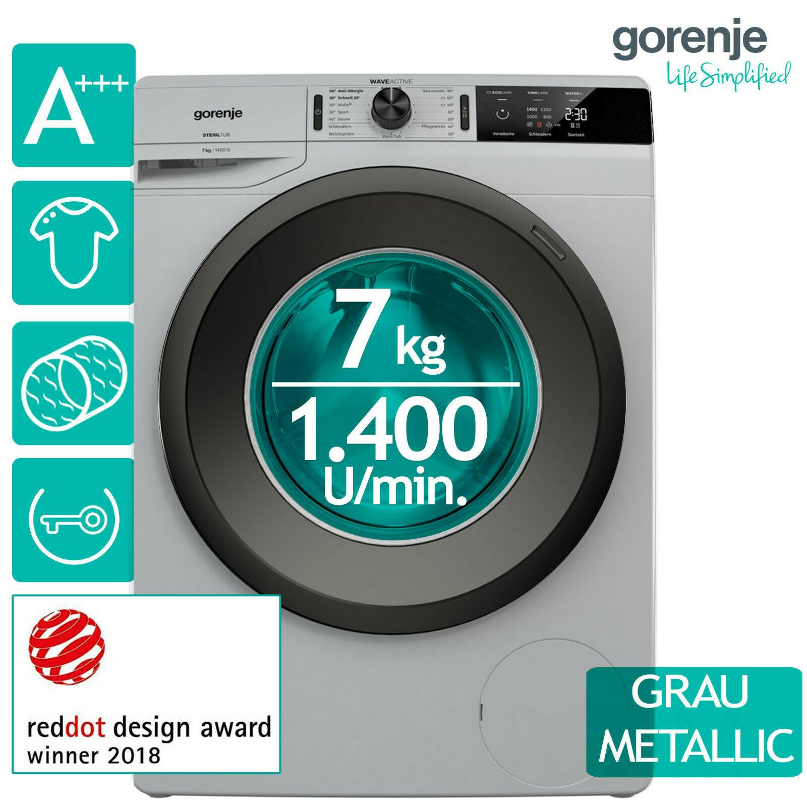 Bild zu 7 kg Waschmaschine Gorenje WE74S3PA (A+++) für 289,90€ (Vergleich: 354,94€)