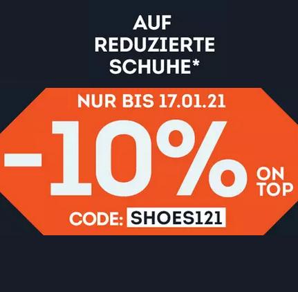 Bild zu SportScheck: Bis zu 40% Rabatt auf ausgewählte Schuhe + 10% Extra-Rabatt