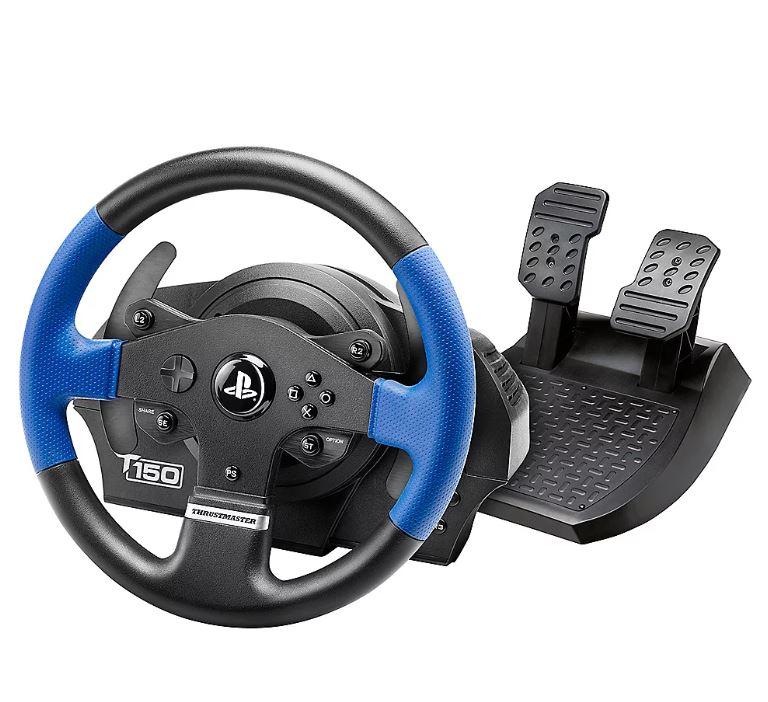Bild zu Thrustmaster T150 RS Lenkrad inkl. 2-Pedalset (PS4, PS3, PC) ab 129,99€ (VG: 168,17€)