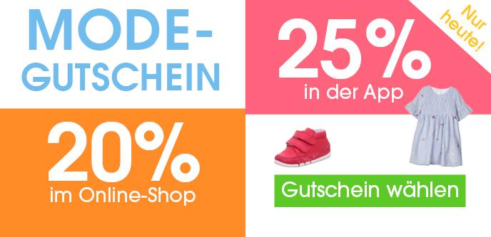 Bild zu BabyMarkt: Bis zu 25% Rabatt auf Artikel aus der Kategorie Mode