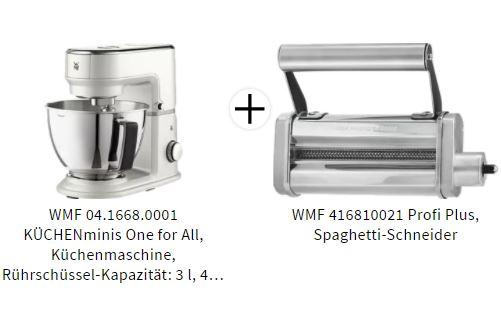 WMF Küchenmaschine und Spaghettischneider
