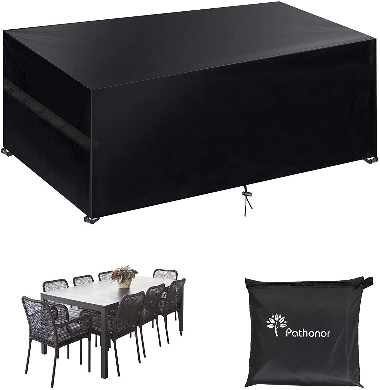Bild zu Winterfeste Pathonor Schutzhülle für Gartenmöbel (242x162x100cm) für 19,59€