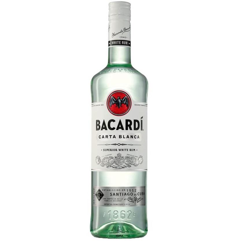 Bild zu 1 Liter Bacardi Carta Blanca 37.5% für 13,90€ (Vergleich: 19,69€)
