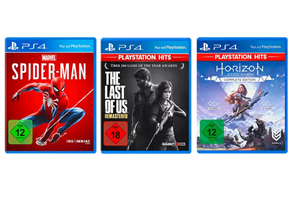 Bild zu PlayStation 4 Bundle – The Last of Us: Remastered, Marvel's Spider-Man, Horizon Zero Dawn Complete Edition ab 29,99€ (VG: 55,83€)