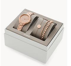 Bild zu Set Damenuhr Suitor Metalllegierung + Armbänder in Roségold oder Silber für 48,30€