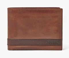 Bild zu Fossil Herren Geldbörse – Quinn L-Zip Bifold für 23,80€ (VG: 47,53€)