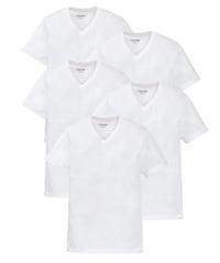 Bild zu Otto Kern 5er Pack T-Shirts V-Ausschnitt inkl. gratis Nordcap Rucksack für 31,99€