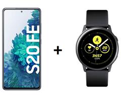 Bild zu [Top] Samsung Galaxy S20 FE + Samsung Galaxy Watch Active 40mm für 49€ mit 10GB LTE Datenflat und Sprachflat im Vodafone Netz für 19,99€/Monat