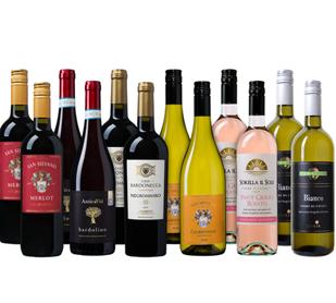 Bild zu Weinvorteil: Probierpaket Italien (12 flaschen) für 50€ inklusive Versand (= 4,17€/Flasche)