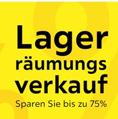 Bild zu XXXLutz: Lagerräumungsverkauf mit bis zu 75% Rabatt & weitere Aktionen