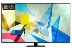 Bild zu SAMSUNG GQ55Q80T QLED TV (Flat, 55 Zoll / 138 cm, UHD 4K, SMART TV) für 1.009€ + 100€ Cashback (VG: 1.149€)