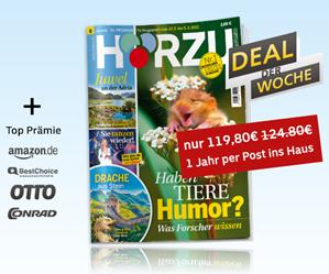 Bild zu Jahresabo Hörzu für 119,80€ + bis zu 120€ Prämie