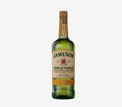 Bild zu Jameson Triple Triple 40% 1L für 30,35€ (VG: 36,49€) oder 2 Stück für 51,80€ (25,90€/Flasche)