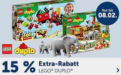 Bild zu myToys: 15% Rabatt auf ausgewähltes Lego Duplo