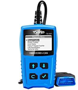Bild zu Tvird OBD2 Diagnosegerät für alle Fahrzeuge ab BJ 2000 für 9,99€
