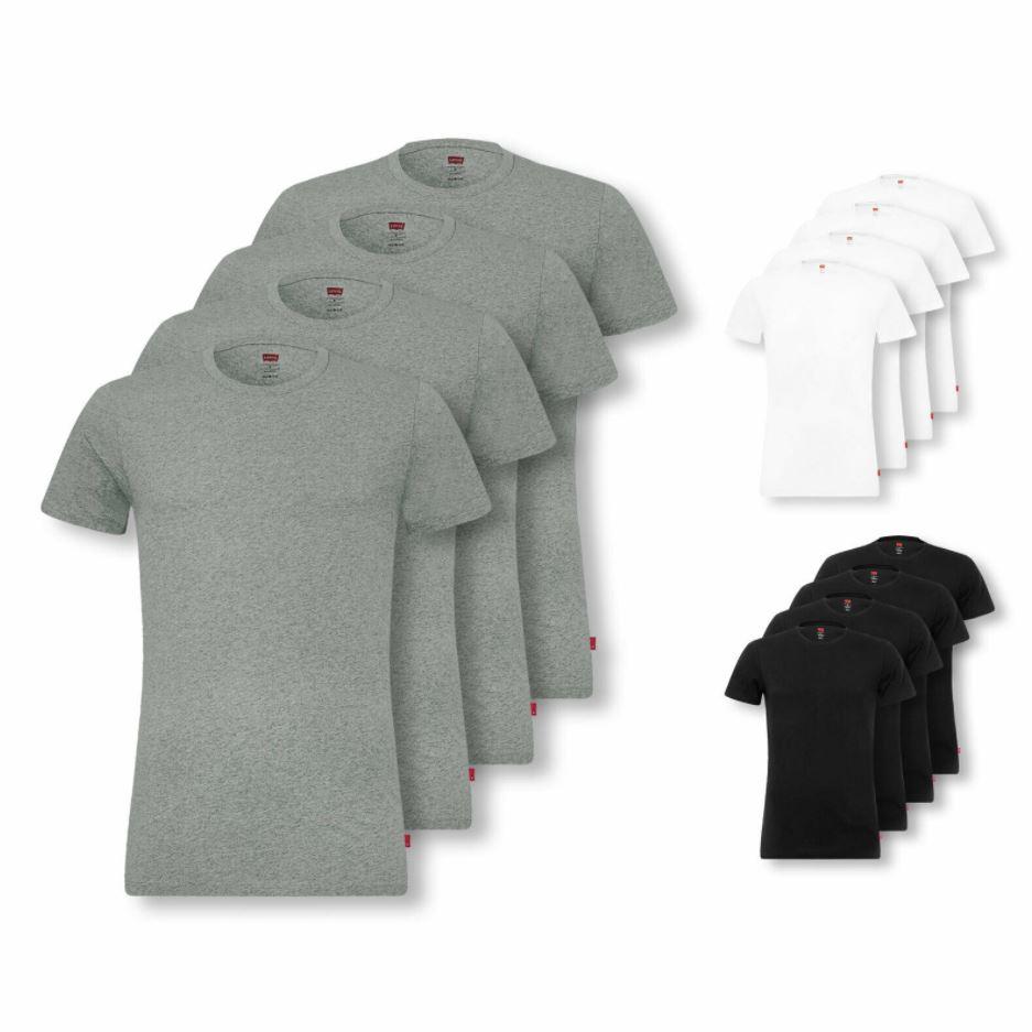Bild zu Levi's Herren 4er Pack T-Shirts: Crew Neck u. V-Neck (Gr. S – XL) für 36,99€ (VG: 41,96€)