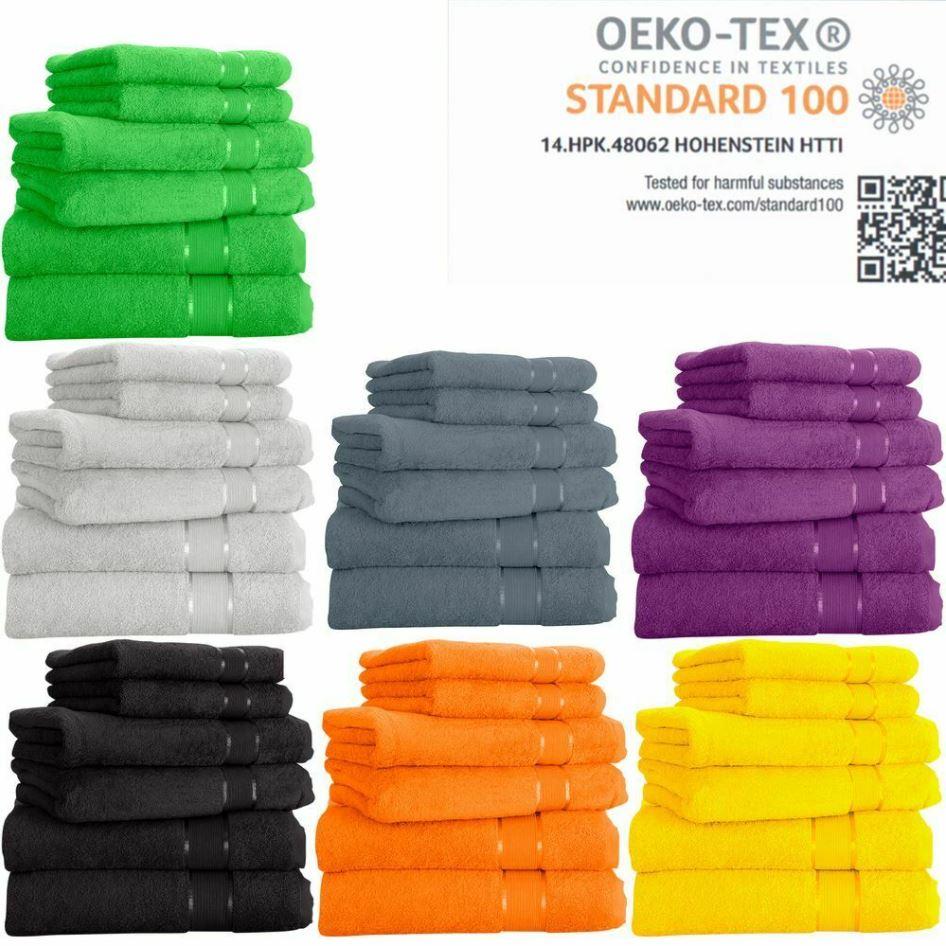 Bild zu MixiBaby 6tlg. Handtuchset aus 100% Baumwolle (je 2x Dusch-, Hand- & Gästetücher) für 17,99€ (VG: 25,99€)