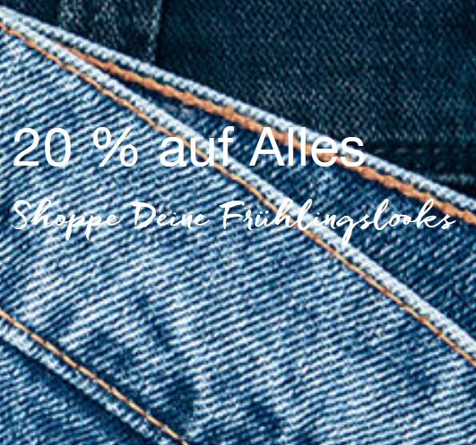 Bild zu Mustang: 20% Rabatt auf alle Artikel im Shop